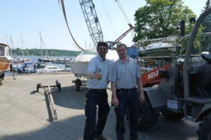 Hafenmitarbeiter in Vollzeit gesucht