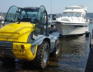 Boot kranen und slippen - Extra Termine im Frühling 2021