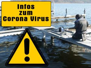 Wichtige Hinweise zu Einschränkungen durch das Coronavirus in unserem Yachthafen