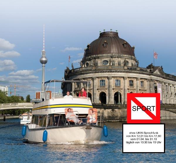 Bild Hausboot Funkpflicht Berlin